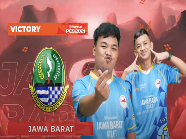 EFootball PES PON XX Papua: Rizky Faidan Bawa Jabar Kalahkan Banten