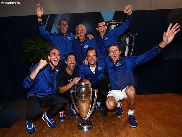 Roger Federer berharap Tim Eropa menangkan Laver Cup untuk kali keempat