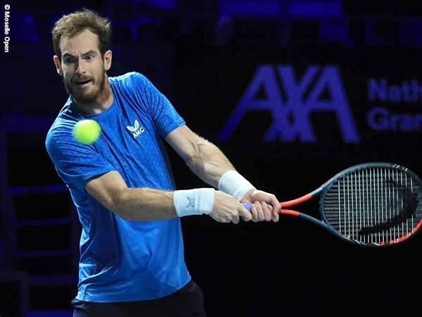 Andy Murray singkirkan Vasek Pospisil dari Moselle Open 2021
