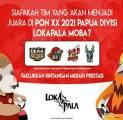 Dewa United Jumpa JEET Esports di Grand Final Lokapala PON XX Papua 2021