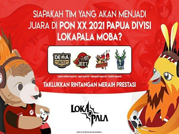 Dewa United Jumpa JEET Esports di Grand Final Lokapala PON XX Papua