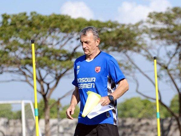 Pelatih PSM Makassar, Milomir Seslija prediksi laga kontra Persik Kediri tidak akan mudah