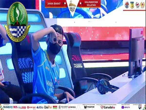 Jawa Barat Tembus Grand Final eFootball PES 2021 PON XX Papua 2021