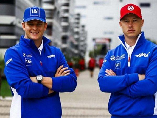 Tim Haas resmi pertahankan Mick Schumacher dan Nikita Mazepin.