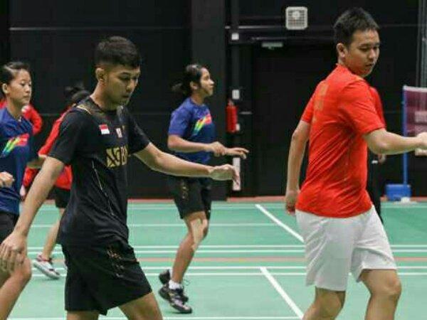 Skuad Indonesia Jalani Latihan Perdana Jelang Piala Sudirman