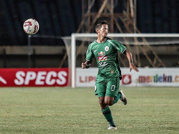 Irfan Bachdim masih diragukan dapat memperkuat PSS Sleman kala menghadapi Madura United