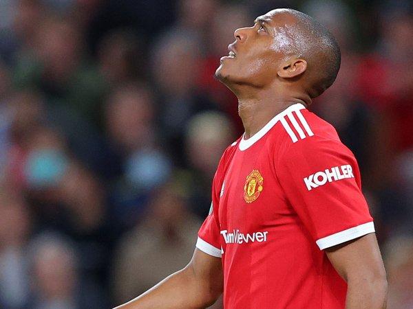 Penyerang Manchester United, Anthony Martial.