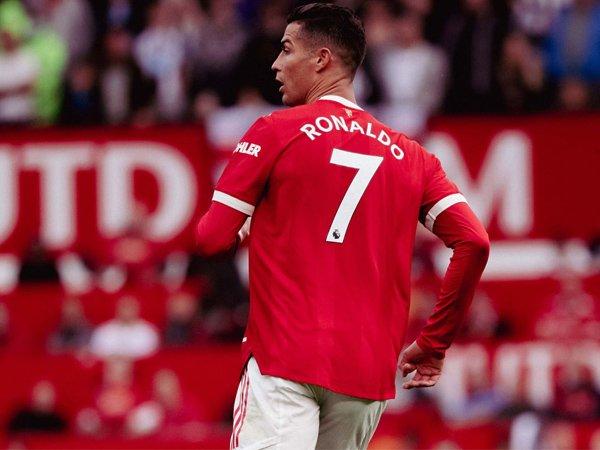 Penyerang Manchester United, Cristiano Ronaldo