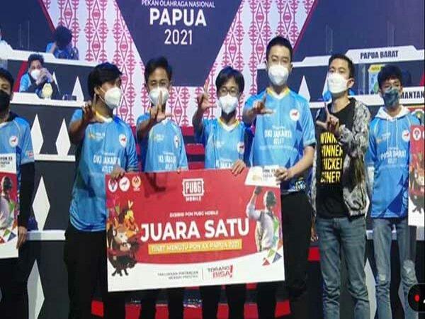 PUBG Mobile PON XX Papua 2021: DKI Jakarta Bawa Pulang Medali Emas