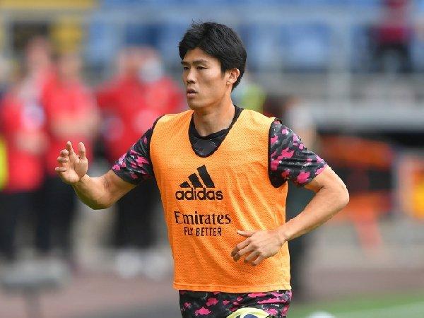 Takehiro Tomiyasu langsung menjadi andalan Arsenal