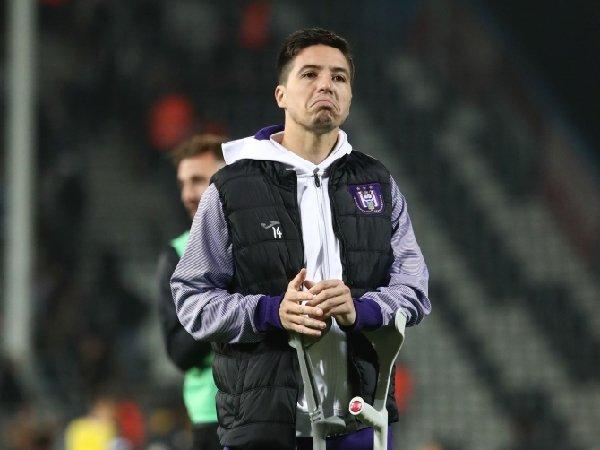 Samir Nasri memutuskan pensiun dari sepak bola