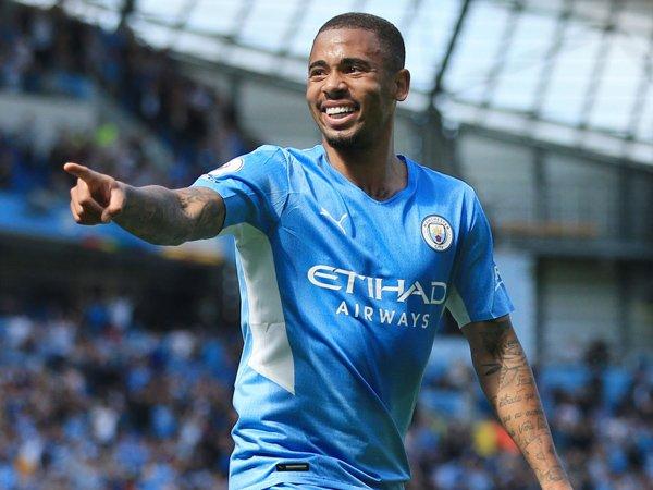 Penyerang Manchester City, Gabriel Jesus.
