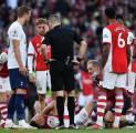 Mikel Arteta Khawatir dengan Cedera Granit Xhaka kontra Tottenham