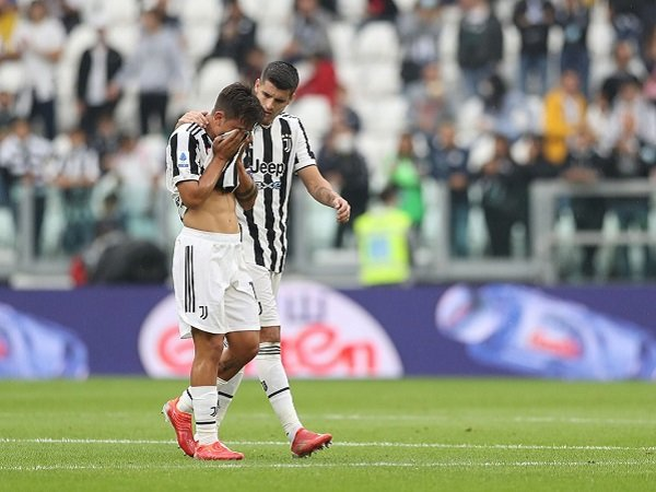 Paulo Dybala dan Alvaro Morata tak cedera parah, namun tetap absen kontra Chelsea.