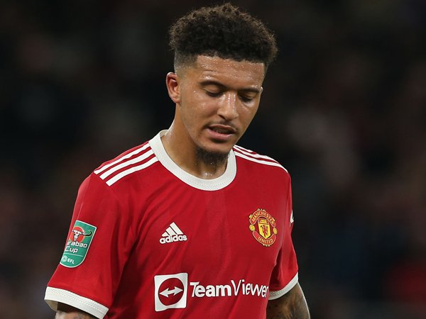 Winger Manchester United, Jadon Sancho.