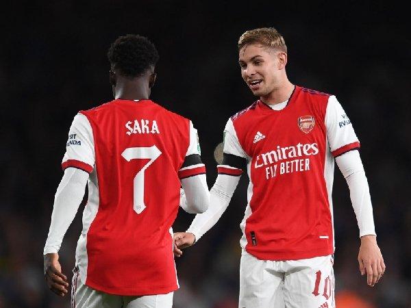 Bukayo Saka dan Emile Smith Rowe sangat diandalkan Arsenal