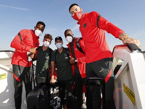 Atletico Madrid menyambut kembalinya Lemar