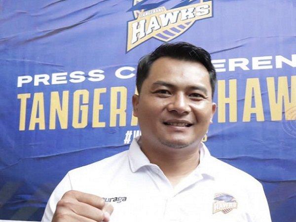Tangerang Hawks pilih pelatih lokal karena tahu kualitasnya juga bagus.