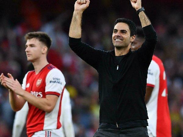 Arsenal sedang berada di jalur yang sangat positif
