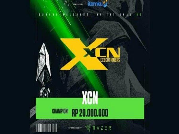 Jungkalkan Bigetron Astro di Grand Final, XCN Juara GVI Season 2