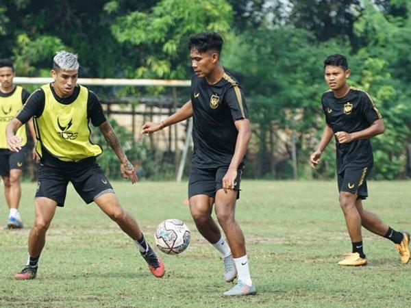 Latihan skuat PSIS Semarang