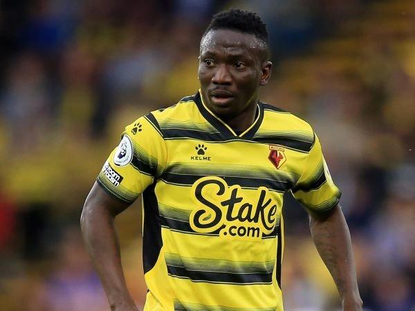 Watford Tidak Akan Diperkuat Peter Etebo Selama Lima Bulan