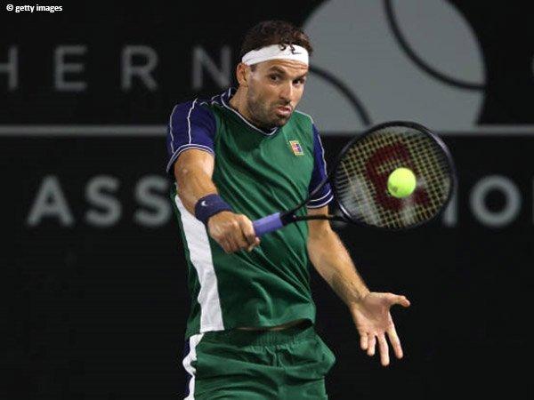 Grigor Dimitrov beberkan strategi yang antarkan dirinya ke semifinal San Diego Open 2021