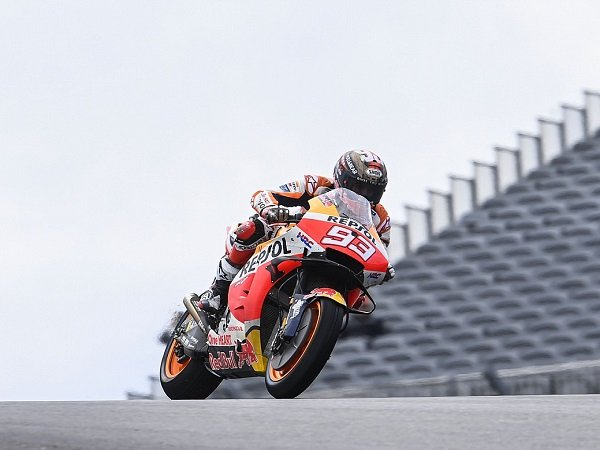 Marc Marquez lagi-lagi rajai sesi FP2 MotoGP AS.