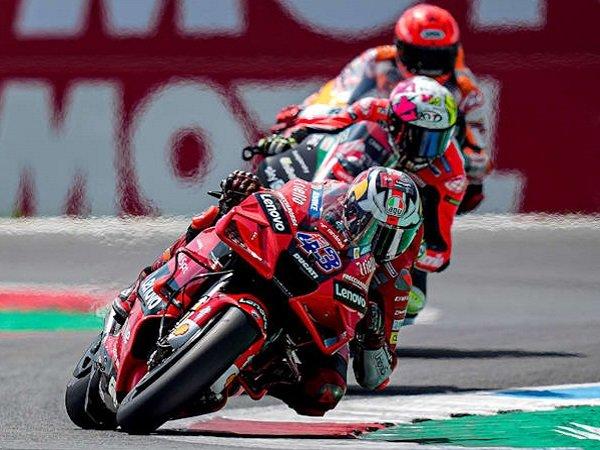 Hasil gemilang dicatat pebalap Ducati, Jack Miller.
