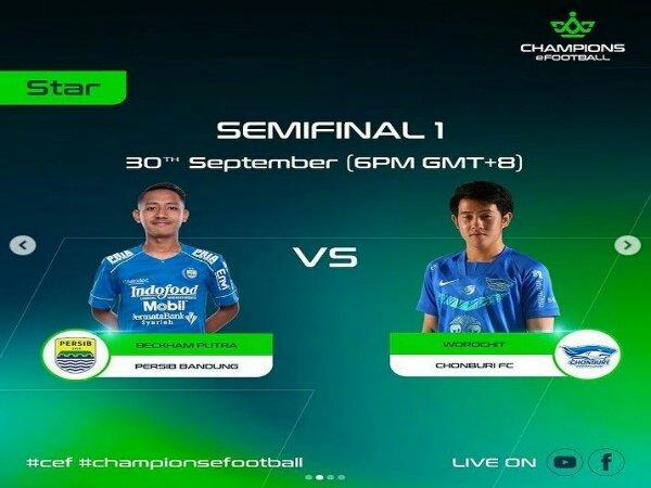 Hebat! Dua Wakil Persib Bandung Tembus Final Champions eFootball