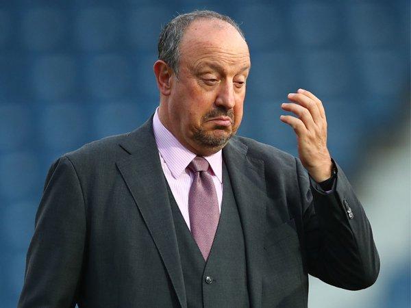 Manajer Everton, Rafael Benitez.