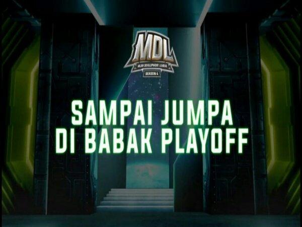 Rekap Week 6 MDL ID Season 4: Bracket Playoff Akhirnya Lengkap