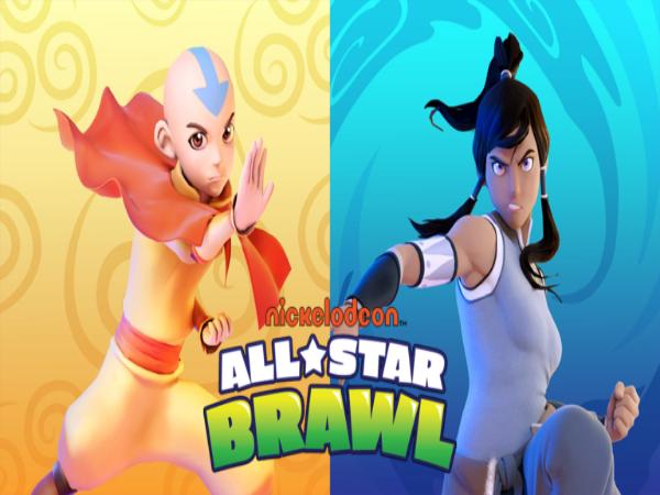 Aang dan Korra Meluncur ke Nicklodeon All-Star Brawl