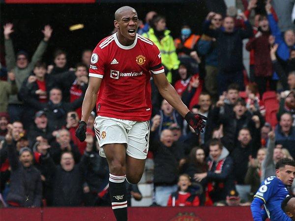 Striker Manchester United, Anthony Martial.