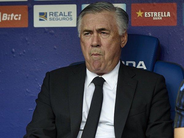 Carlo Ancelotti heran lihat Real Madrid berubah drastis dalam sepekan.