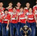 China Masih Berada di Puncak Dunia Dengan Mempertahankan Piala Sudirman