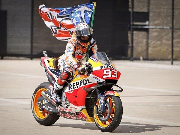 Marc Marquez lagi-lagi rajai MotoGP AS.