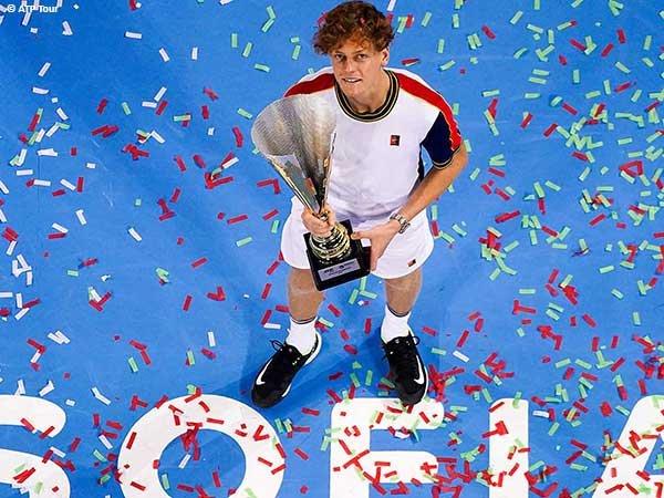 Jannik Sinner tekuk Gael Monfils di final Sofia Open 2021