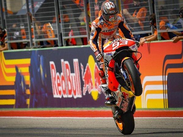 Marc Marquez senang bisa meraih kemenangan di GP AS lagi.