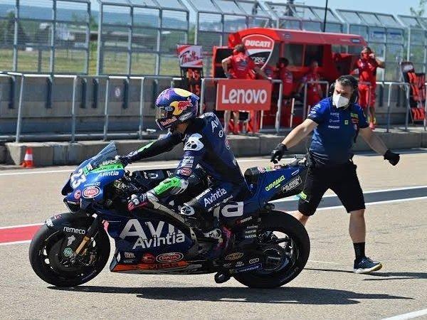 Enea Bastianini sumringah kecepatan motornya mulai kompetitif.