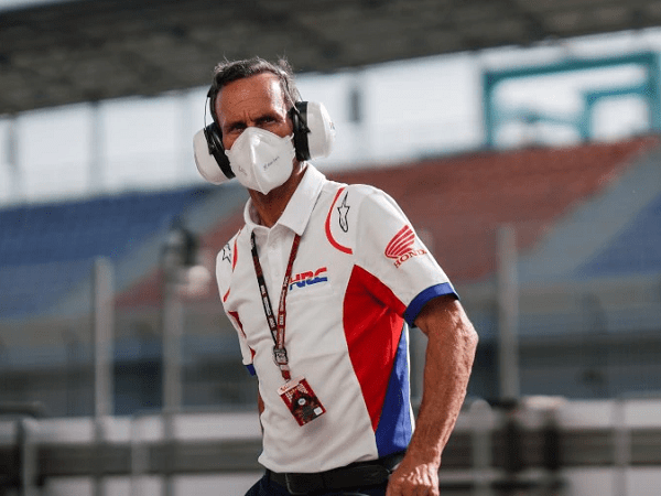 Alberto Puig enggan terlalu berlebihan rayakan kemenangan Marc Marquez di GP AS.