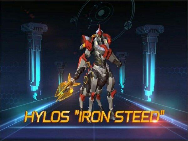 Hylos Dapatkan Skin Epic Pertamanya Iron Steed Hylos