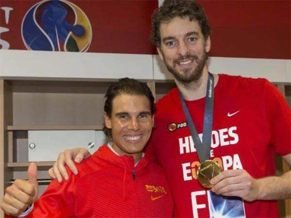 Pau Gasol pensiun, ini tribut Rafael Nadal