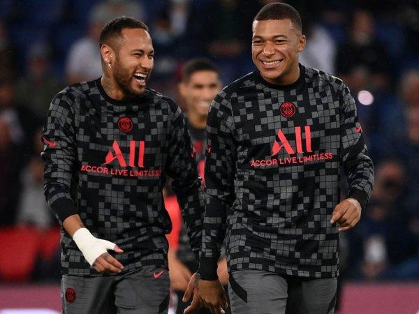 Kylian Mbappe dan Neymar Jr.