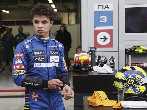 Pebalap McLaren, Lando Norris.