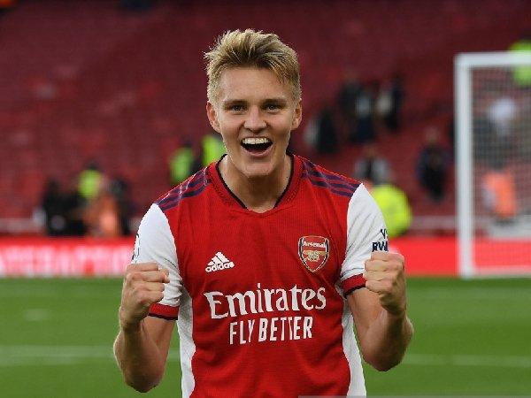 Martin Odegaard pindah ke Arsenal dari Real Madrid