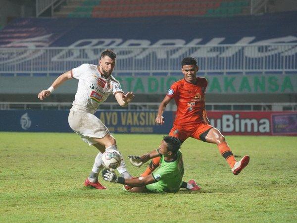 Penampilan skuat Persija Jakarta masih harus dibenahi jelang seri kedua