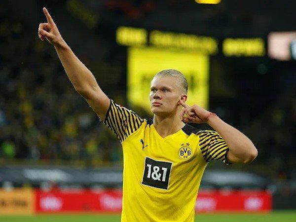Dortmund Siap Naikkan Gaji Erling Haaland
