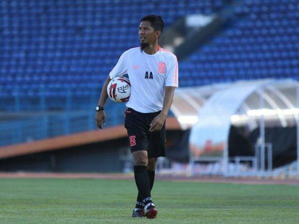 Ahmad Amiruddin masih akan memimpin latihan Borneo FC sebelum Risto Vidakovic bergabung