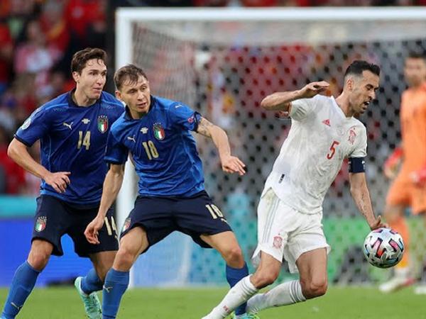 Sergio Busquets akui Italia jadi kampiun Piala Eropa secara pantas.